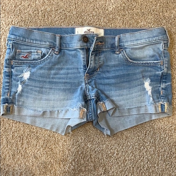 Hollister Pants - Hollister Denim Shorts